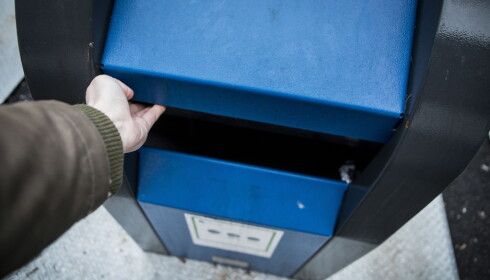 UFLAKS: Nedi her forsvant lommeboka til Sissel Larsen. Foto: Christian Roth Christensen / Dagbladet