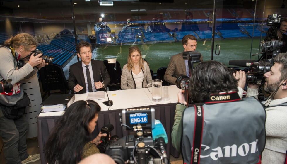 ÅPEN HØRING: Therese Johaugs åpne høring for et uavhengig domspanel har blitt et sterkt argument i den svenske debatten om å skille idrettsbevegelsen fra etterforskningen og straffeforfølgingen i dopingsaker. FOTO: Lars Eivind Bones / Dagbladet.
