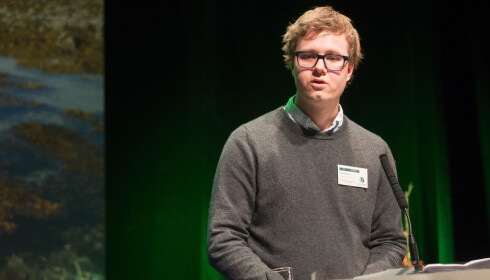 - RART: Unge Venstre leder Tord Hustveit synes det er rart at Auf vil stenge døra. Foto: Terje Bendiksby / NTB scanpix