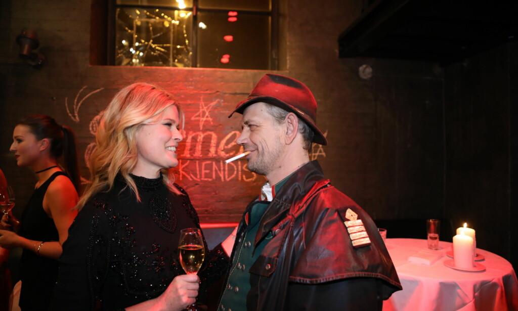 GOD TONE: Vendela Kirsebom og Leif Einar Lothe fikk et gledelig gjensyn med hverandre. Foto: Christian Roth Christensen / Dagbladet
