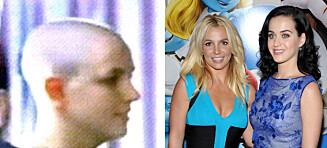 Katy Perry gjorde narr av Britneys sammenbrudd