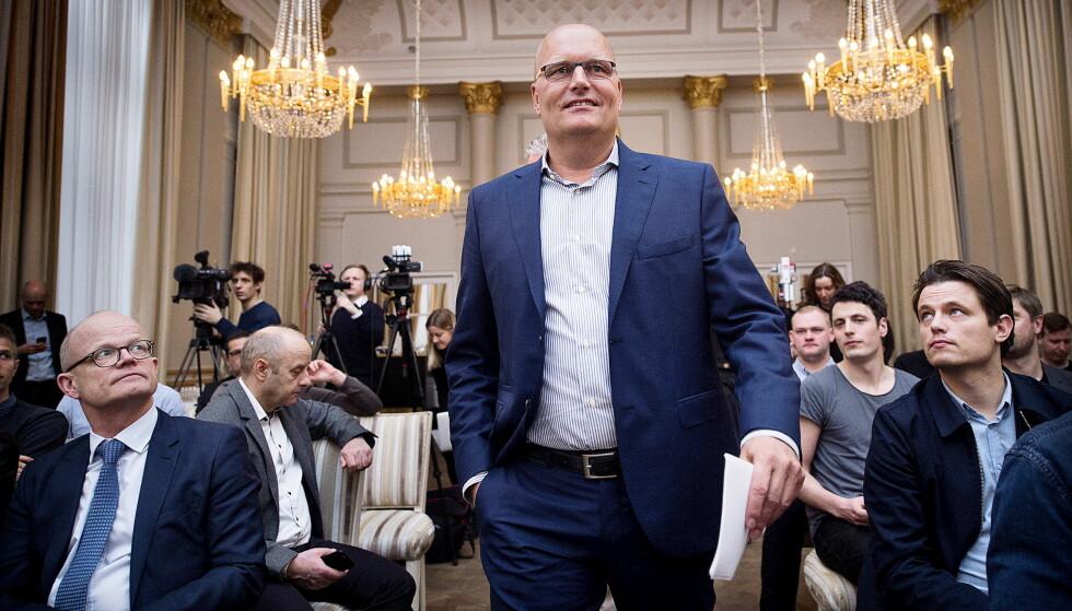 LOVER BORT ØREFIKER: Bjarne Riis har gjort egne feil og mener han har betalt en høy pris for det. Som sportssjef i Team VéloConcept lover han at hans utøvere ikke skal rote seg bort i dopingsaker. Ellers får de med ham å gjøre. FOTO: Niels Meilvang/Scanpix