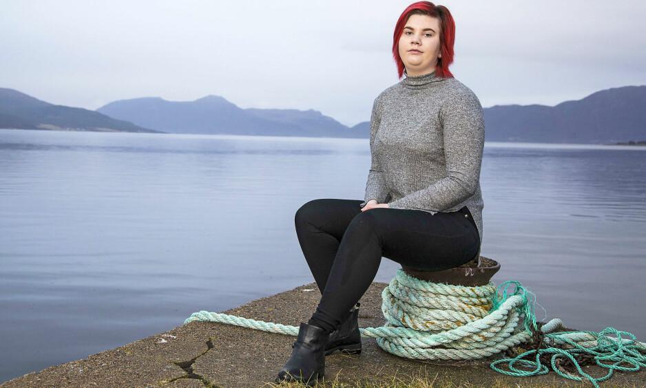 GODT LIV: Amalie Sylte Vik fra Tomrefjord ble født med alvorligehjerteproblemer. Hun var bare 14 årgammel da hun fikk et nytt hjerte -og ble frisk! Foto: Morten Eik og privat