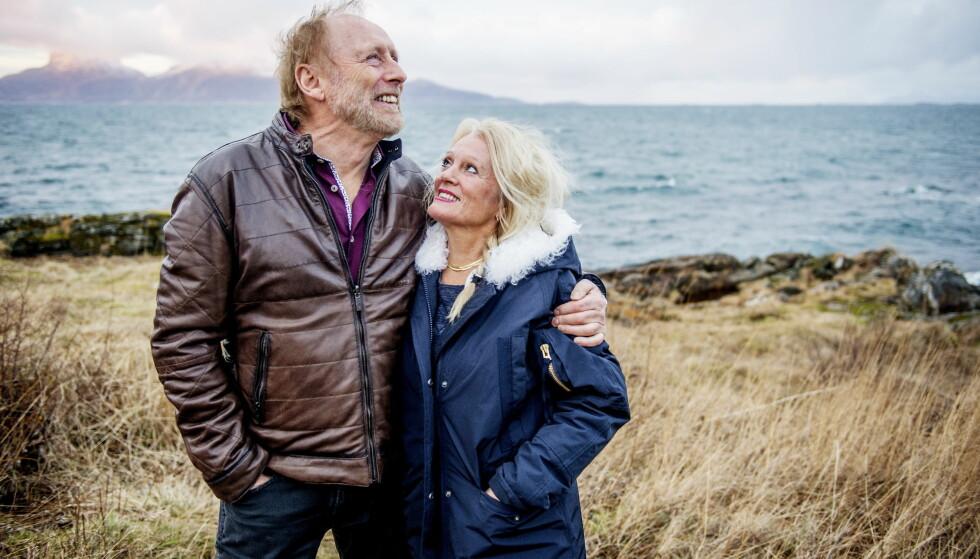 INGEN ER SOM DU: En gang kranglet de, og Marit stakk. Halvdan skrev «Kjærlighetsvisa», og da Marit kom tilbake og fikk høre den, ble hun. Nå har de vært gift i 40 år. Foto: Siv Johanne Seglem