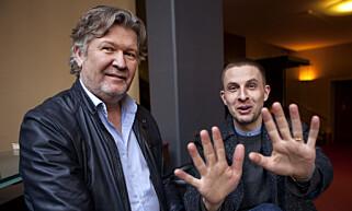SAMMEN IGJEN: Fra tv-dramaet «Nobel» til teaterstykket «Closer», her regissør Per-Olav Sørensen og Anders Danielsen Lie. Foto: Anders Grønneberg