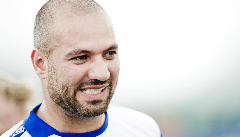 I SORG: Marco Elsafadi. Her i forbindelse med en fotballkamp under Norway Cup for et par år tilbake. Foto: Jon Olav Nesvold / NTB scanpix