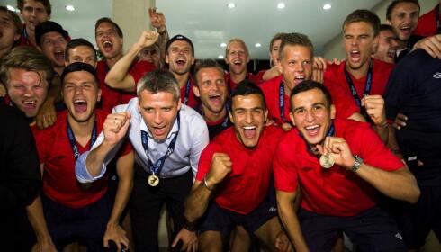 LYSENDE FRAMTID: Da Norges U21-landslag tok bronse i Israel i 2013, ble de spådd en lysende framtid. Men utviklingen har ikke vært som forventet. Foto: Erlend Aas / NTB scanpix