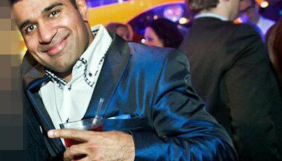 OPPREISNING: Imran «Onkel Skrue» Saber får 10 000 kroner i erstatning av staten, fordi politiet bekreftet navnet hans, etter en større politiaksjon og påfølgende pågripelse. Foto: Privat