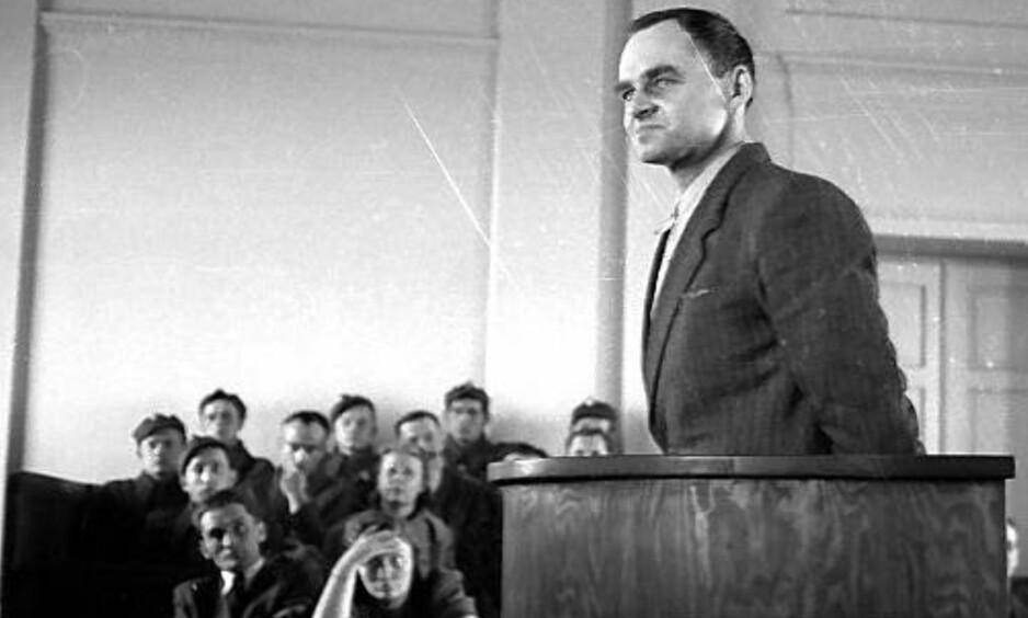ANKLAGET FOR SPIONASJE: Kommunistene beskyldte Witold Pilecki for spionasje og dømte ham til døden. Foto: Wikimedia Commons