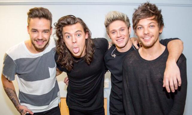 SUKSESS: Det britiske boybandet «One Direction» består av Liam Payne (t.v), Harry Styles, Niall Horan og Louis Tomlinson. Foto: NTB scanpix