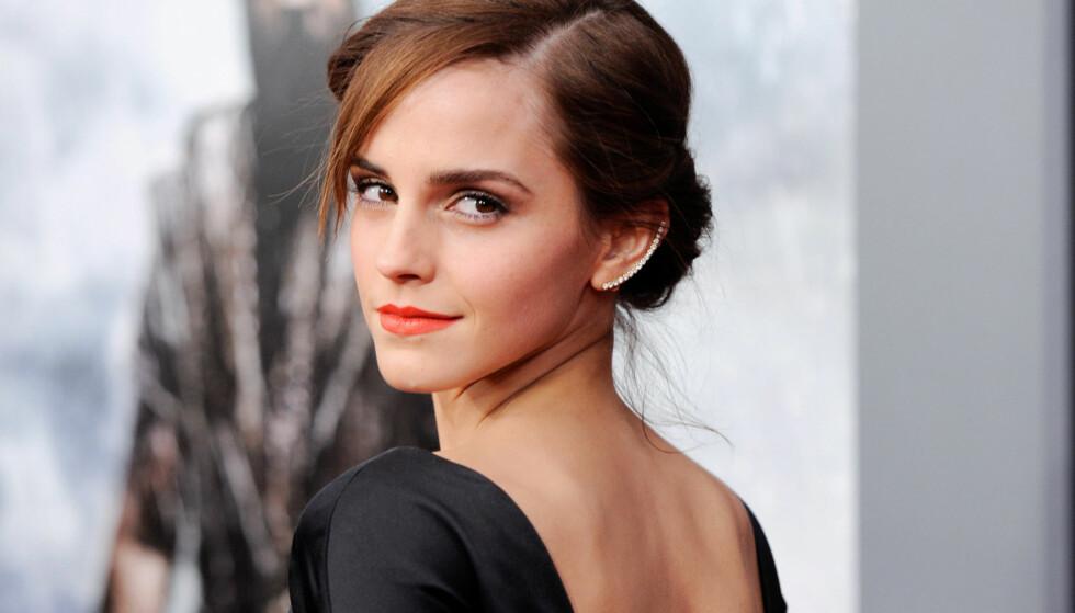 PRIVAT: Emma Watson forteller i et intervju med Vanity Fair hvorfor hun holder kortene om sitt privatliv såpass tett til brystet. Foto: NTB scanpix