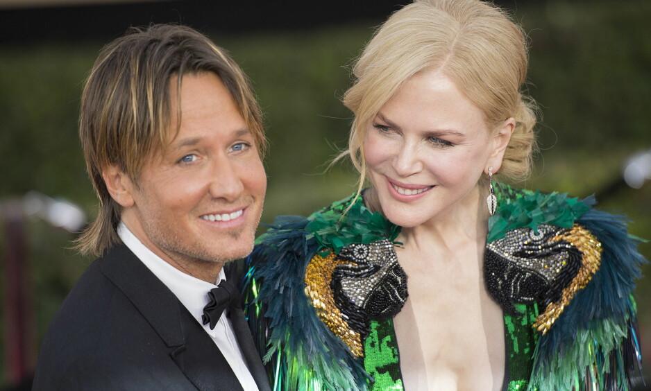 LYKKELIG GIFT: I elleve år har Nicole Kidman og Keith Urban vært mann og kone. Foto: NTB Scanpix.