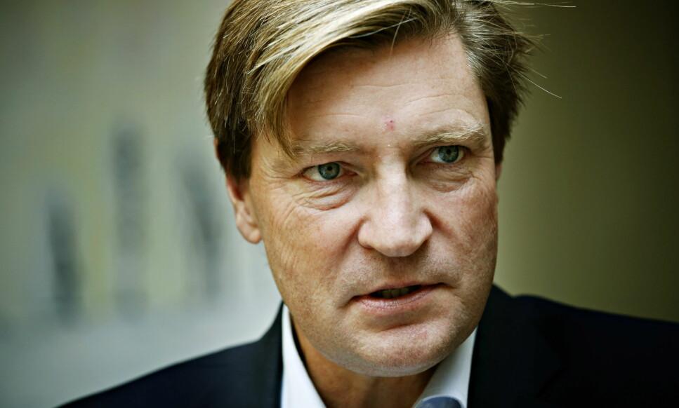 REAGERER: Stortingsrepresentant for Frp, Christian Tybring-Gjedde, reagerer kraftig på at Dagbladet omtaler denne saken. Foto: Jacques Hvistendahl / Dagbladet