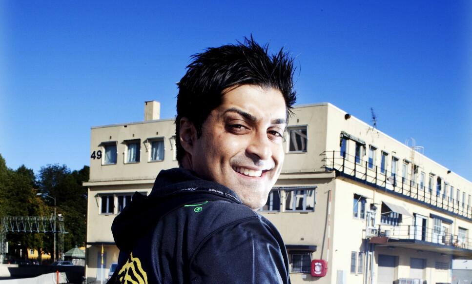 DØMT: Tommy Sharif. Foto: Siv Johanne Seglem / Dagbladet