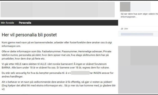 PUBLISERT I GRUPPA: Denne skjermdumpen er publisert i den aktuelle tråden i Facebook-gruppa. Foto: Skjermdump / Facebook