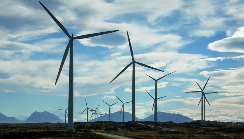 Nødvendig: Norge trener vindkraften. Her er Smøla vindpark i Møre og Romsdal. Foto: NTB scanpix