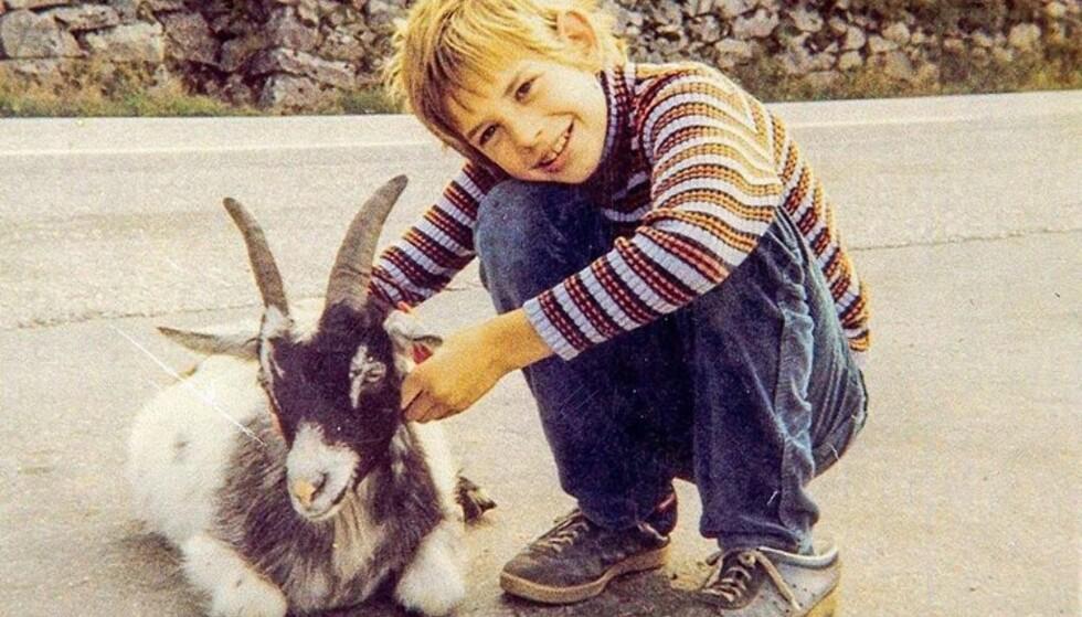 SNILL OG LITE RAMPETE: Ifølge moren Anne Karin Lothe, var Leif Einar Lothe en snill og lydig gutt da han vokste opp. FOTO: Instagram/Privat