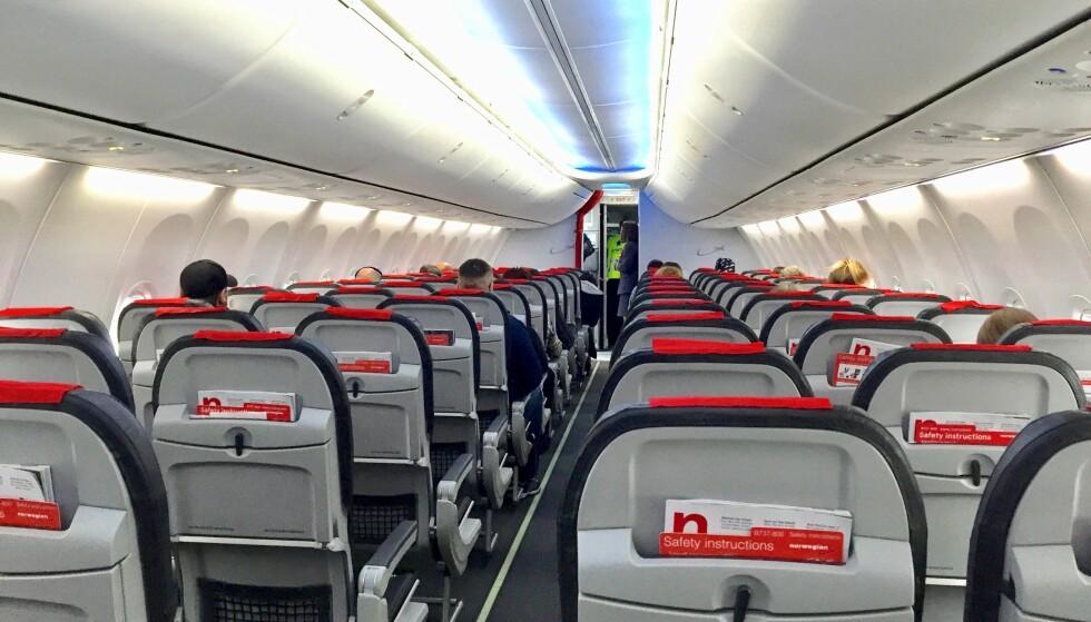 Best i test: Norwegian er eneste nordiske flyselskap på listen over de 20 beste når det gjelder wifi til passasjerene. Foto: Odd Roar Lange / The Travel Inspector
