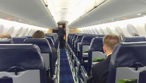 Nye løsninger: Widerøe ser på wifi-løsninger for sine passasjerer. Foto: Odd Roar Lange / The Travel Inspector