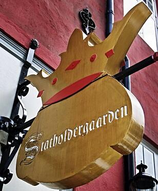 STJERNEGLANS: Restaurant Statholdergaarden ligger i kvadraturen i Oslo. FOTO: NTN/Scanpix