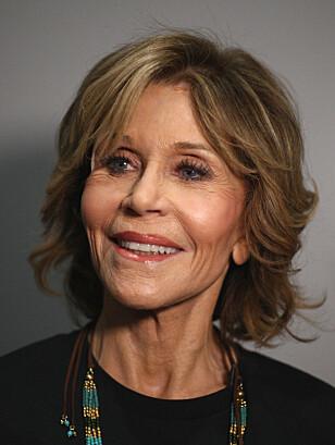 - PROBLEM: Skuespiller Jane Fonda er blant dem som tidligere har åpnet seg opp om at diskriminering på bakgrunn av alder er et problem i Hollywood. Foto: AFP, NTB scanpix