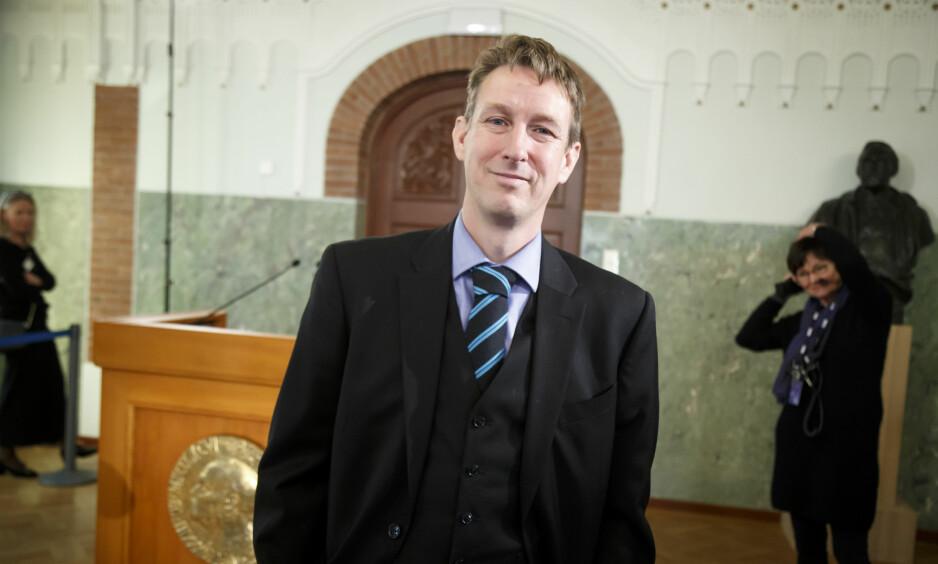 KRITIKK: Asle Toje mottar kritikk for fremheving av forfatteren Raspail. Foto: Heiko Junge / NTB scanpix