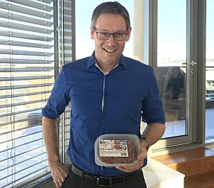 KJØTTFRITT: - Vi ønsker å ta del i flere middager i løpet av året, ikke bare kjøttmiddagene, sier Konsernsjef i Nortura, Arne Kristian Kolberg.