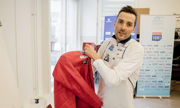 FORBANNET: Magnus Moan var offensiv da kombinertløperne møtte pressen onsdag. Ett døgn seinere svartnet det da han ble vraket til fredagens konkurranse. Foto:  Bjørn Langsem / Dagbladet