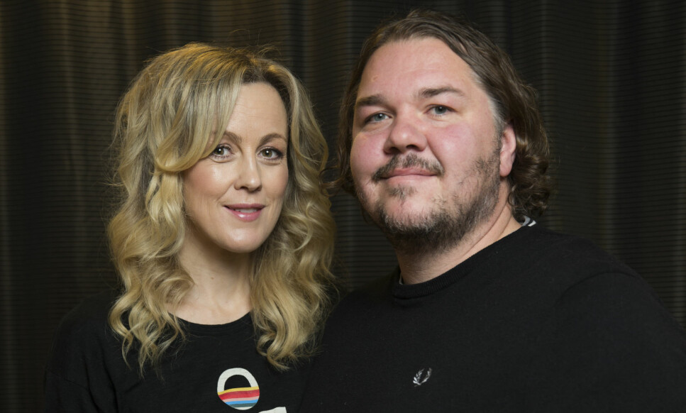 BARN NUMMER TRE: Skuespiller-paret Marian Saastad Ottesen og Nils Jørgen Kaalstad har fått en sønn. Foto: Berit Roald / NTB scanpix