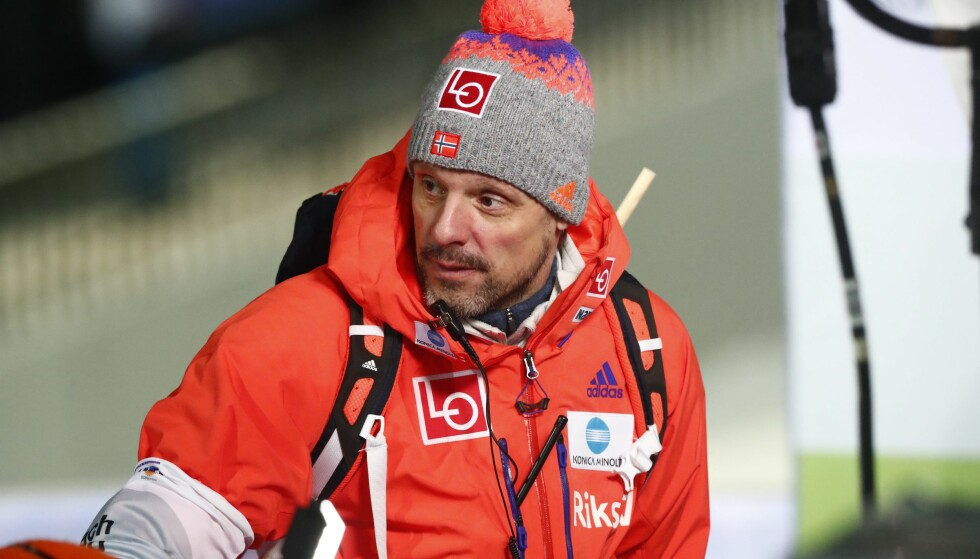 SLÅR TILBAKE: Landslagstrener Alexander Stöckl. Foto: Terje Pedersen / NTB Scanpix