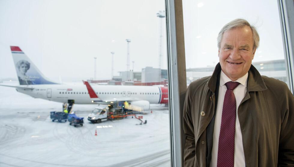 SPANSK BOT: Norwegian har fått en bot på 10 000 euro i en domstol i Malaga. Her sjefen BjørnKjos på Arlanda i Stockholm. Foto: Jessica Gow , TT /NTB Scanpix.