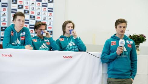 MEDISINSK KOORDINATOR: Lars Haugvad (til høyre). Foto:  Bjørn Langsem