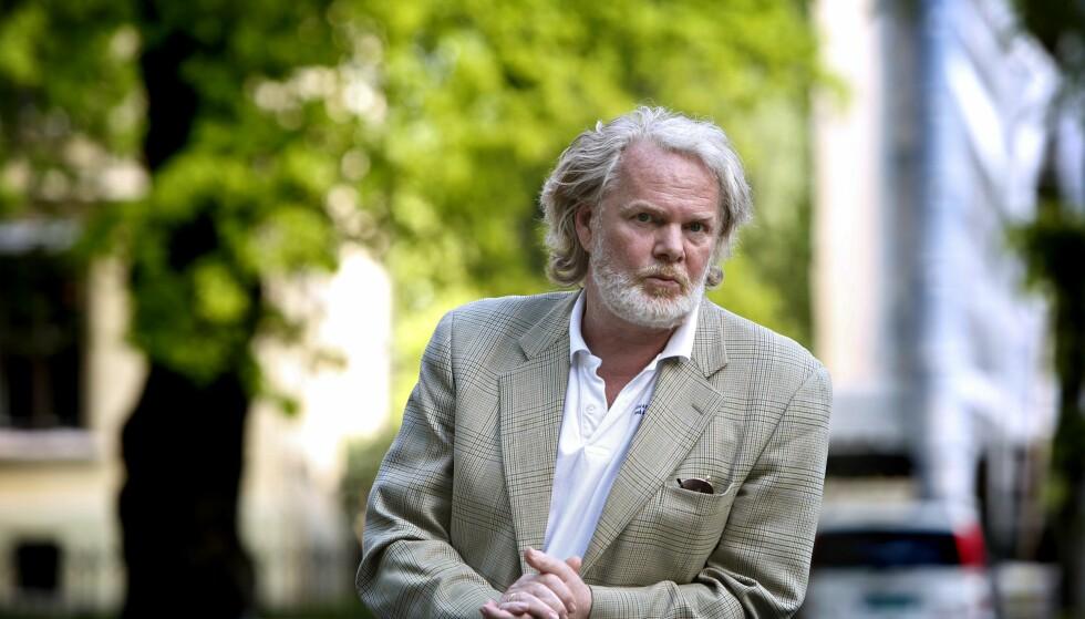 FØLGER FRIMENN: Forfatter Torgrim Eggen har lenge fulgt den norske frimann-bevegelsen. Foto: Dan P. Neegaard