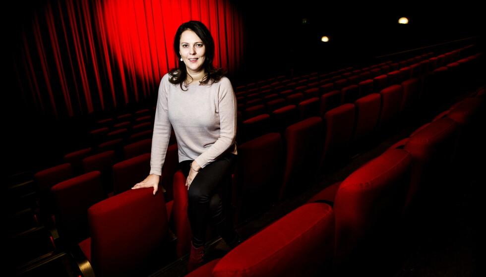 EN GAVE: Margreth Olin kaller sin nye film en gave. For henne handler den om å vise genuin respekt for enkeltmennesker. Foto: John Terje Pedersen
