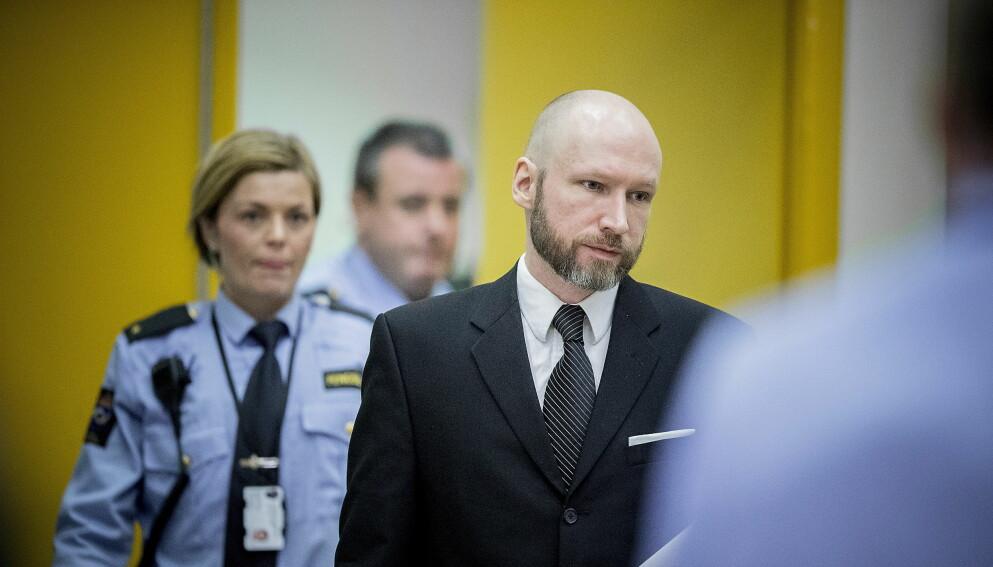 FORBINDELSER: I siste utgave av tidsskriftet «Perspectives on terrorism» vises det til mellom 20 og 25 tilfeller av planlagt, avslørt eller gjennomført terrorisme der navnet til Anders Behring Breivik er med i etterforskningen. Foto: Bjørn Langsem