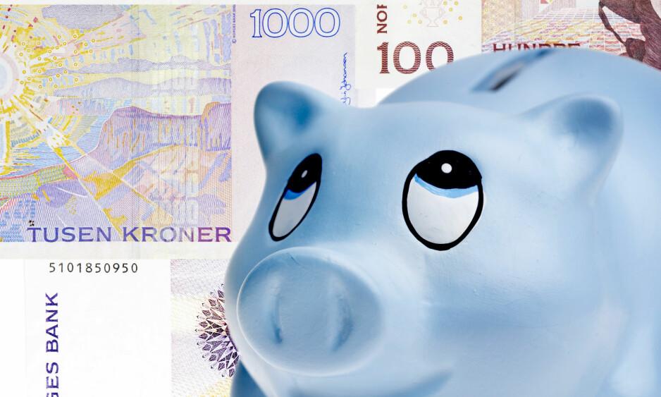 FET OPP GRISEN: Til tross for at mange nordmenn har romslig økonomi, lider sparegrisen under et magert regime i mange norske hjem. For mange er sparepotensiale stort, skriver Elin Reitan. Foto: Berit Roald / NTB scanpix