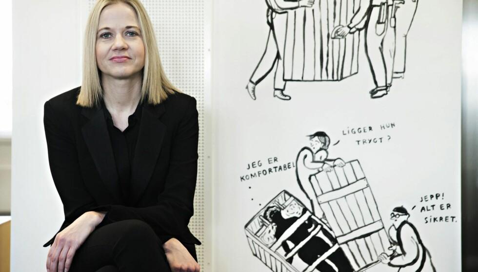 PLETTFRI:Karin Hindsbohar en plettfrikarriere, men iNorge har manen litt guffenvane med åriste i treet tilfrukten fallerned – detgjelder ikkeminst utenlandskesjefer,og spesielt pådennes egnekommendearbeidsplass,skriver PontusKyander.Foto:NTB Scanpix