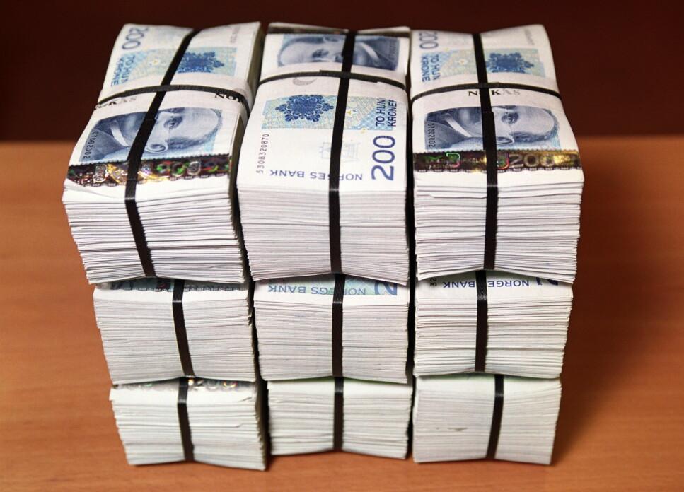 KONTANTFRITT INNEN 203O: Om vi ender opp med at kontanter avvikles fullstendig, vil det fra et personvernståsted være svært bekymringsfullt, skriver artrikkelforfatteren. Foto: NTB Scanpix