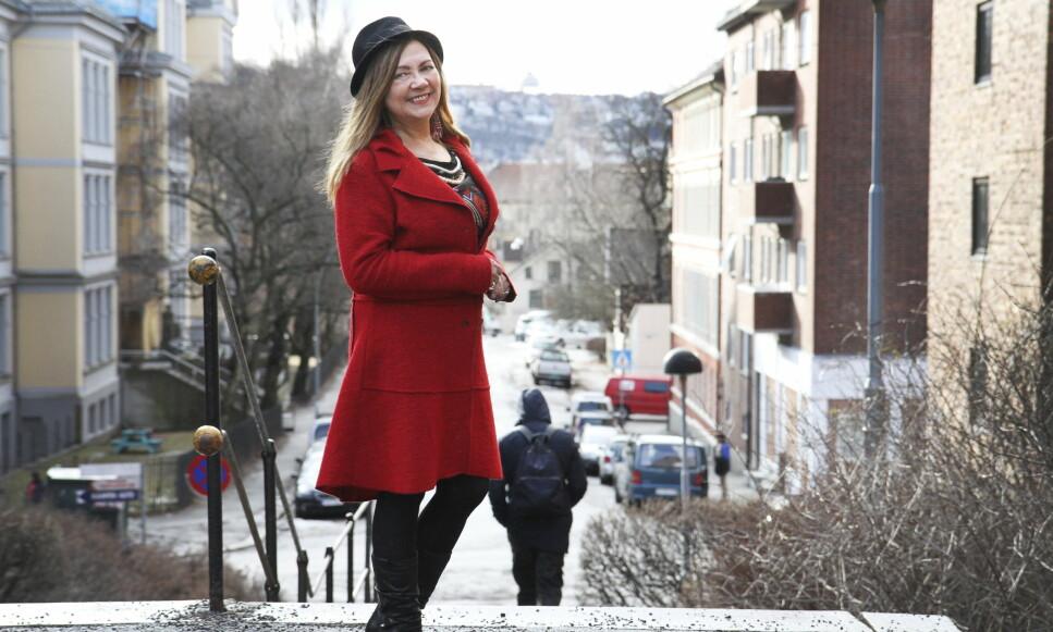 PÅ ENGELSK: Mari Boine har etter over 30 år som Norges internasjonale verdensmusikkstjerne og samisk musikkikon bestemt seg for å slippe fram «sin andre side». Derfor gir hun ut det engelskspråklige popalbumet «See the Woman». Foto: Gitte Johannessen / NTB Scanpix