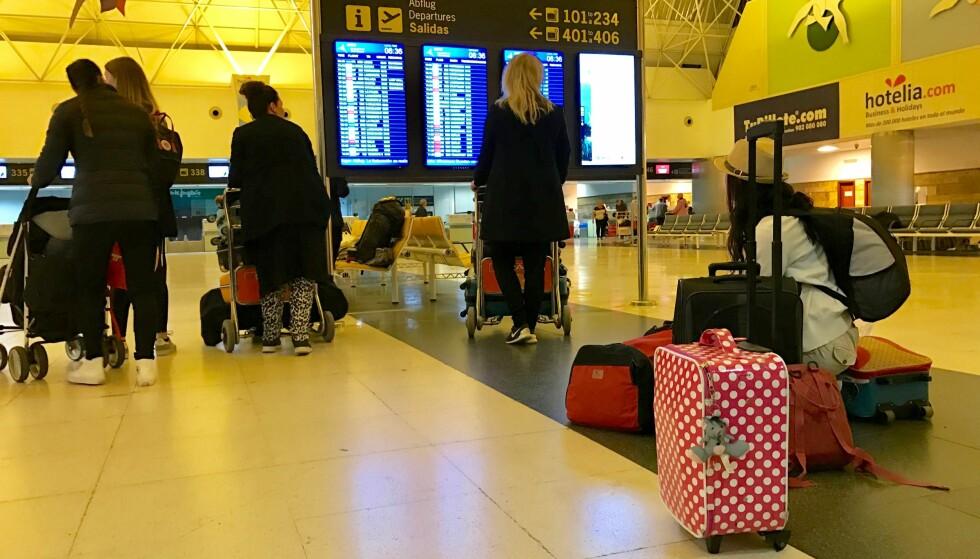 PAKKETRIKSET: Pakk med deg de riktige tingene i håndbagasjen, for forsikringen dekker kanskje ikke det du tror. Foto: Odd Roar Lange / The Travel Inspector