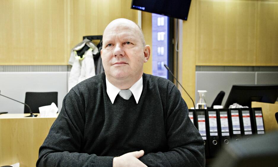 GRILLES: Pensjonert orlogskaptein, Bjørn Stavrum står tiltalt for korrupsjon. I dag ble han grillet av Økokrim i Oslo tingrett. Foto: Nina Hansen / Dagbladet