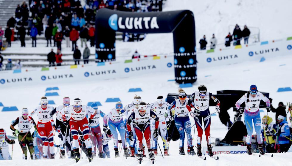 NORSKE I FRONT: Dette bildet ønsker ikke Ole Morten Iversen å se på tremila i dag. Foto: Bjørn Langsem / Dagbladet