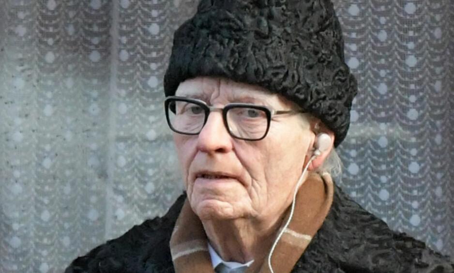 UGJENKJENNELIG: Skuespiller Tilda Swinton er forvandlet til en eldre mann i den kommende filmen «Susperia». Foto: Scanpix