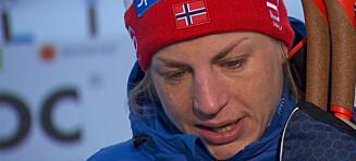 Uhrenholdt Jacobsen oppløst i tårer etter smertehelvete: - Utrolig at jeg klarer å ta medalje