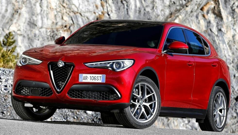 SUV: For første gang i sin over 100 årige historie presenterer Alfa Romeo en SUV, basert på plattformen som har vist seg å fungere bra med Giulia. Foto: Alfa Romeo
