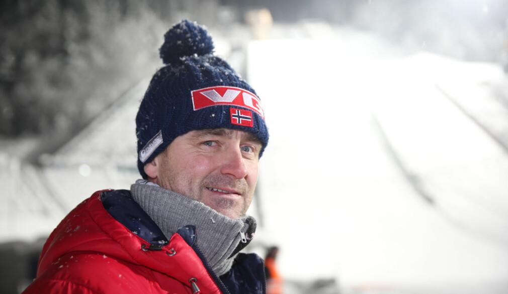HISTORISK: Sportssjef Clas Brede Bråthen håper Raw Air vil gå inn i historiebøkene. Foto: Geir Olsen / NTB scanpix
