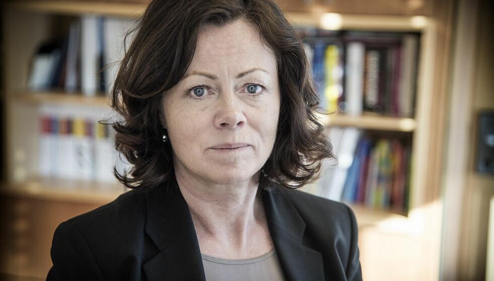 VIL HJELPE: Barneminister Solveig Horne sier hun er bekymret over den psykiske situasjonen til enslige mindreårige asylsøkere i Norge. Foto: Hans Arne Vedlog  /  Dagbladet