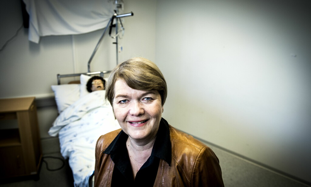 FLERE MENN: Dekan Heidi Kapstad ønsker å rekruttere menn til sykepleierutdanningene i landet. Foto: John T.Pedersen / Dagbladet