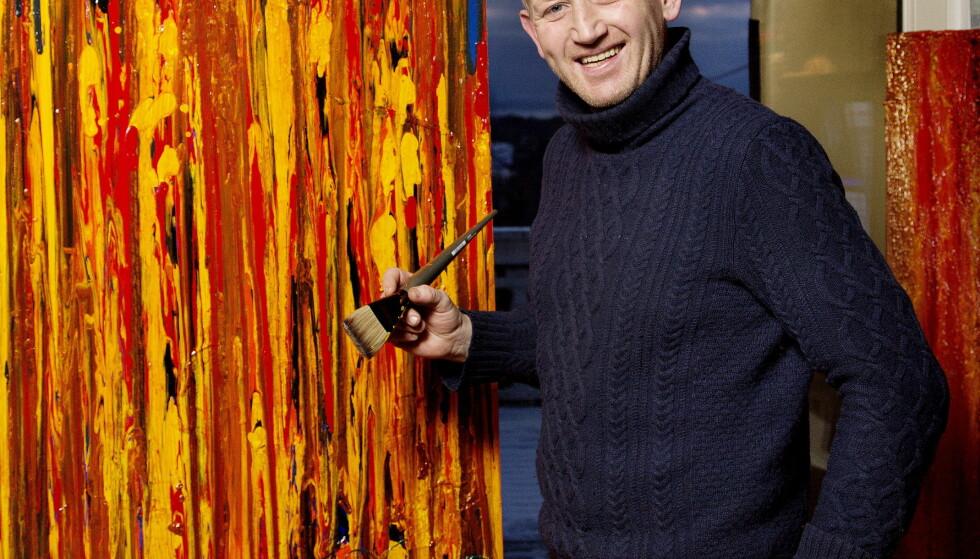BLE IKKE TRODD: Kunsttyven Pål Enger får saken sin gjenopptatt etter å ha blitt dømt for tyveri i et galleri på Aker Brygge i Oslo desember 2015.         Foto: Agnete Brun