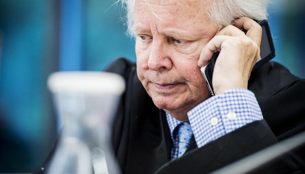 DØMT: - Dette var jo også en visning, sier advokat Fridtjof Feydt om klienten som viste fram understellet da han skulle leie ut en leilighet til en kvinne. Foto: Benjamin A. Ward / Dagbladet